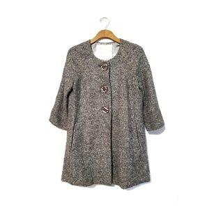 Beth Bowley Tweed Coat size 10